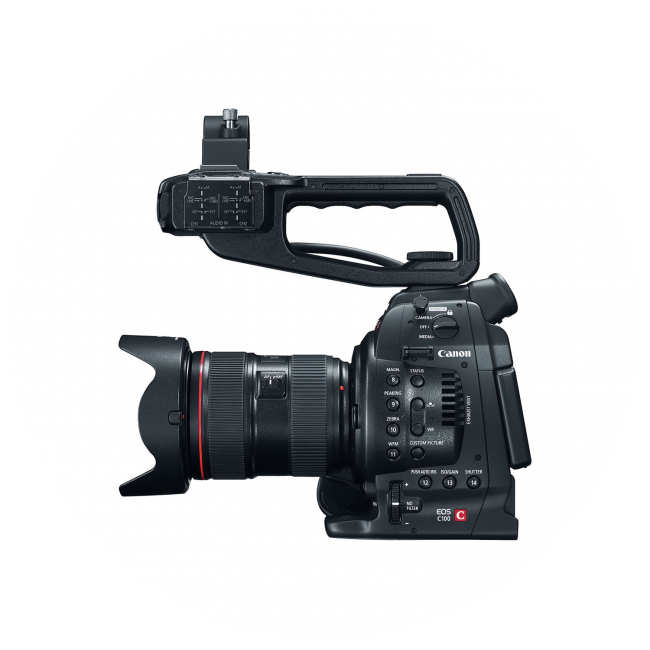 Zwei Canon EOS C100